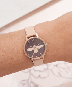Ladies Midi 3D Grey Dial Watch - rongcp