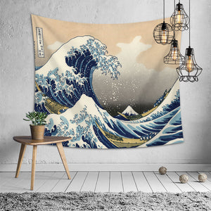 Wall Tapestry Wall Hanging Carpet Decorative Tablecloth Polyester Beach Towel Bedspread Home Decor - rongcp