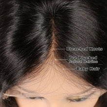 GLUELESS | FULL LACE BRAZILIAN HUMAN HAIR NATURAL WAVY SHORT - rongcp