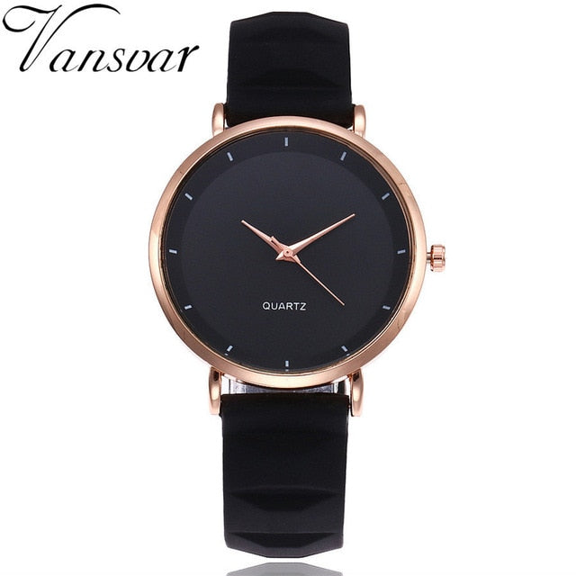 2017 Fashion Jelly Silicone Women Watches Luxury Brand Casual Ladies Quartz Clock Wristwatches Clock Montre Femme - rongcp