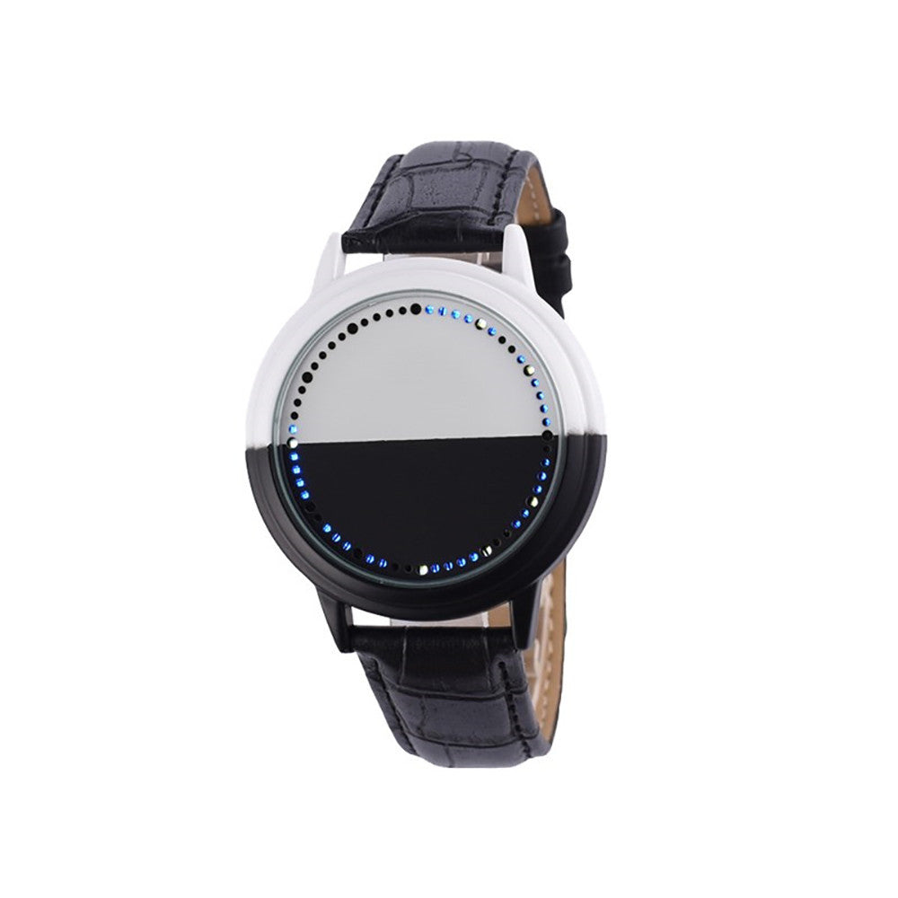 Waterproof LED Watch Men And Women Lovers Watch Smart Electronics Watches - rongcp