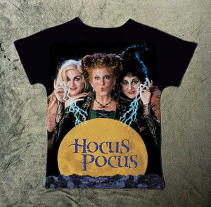"T-shirt "" Hocus Pocus "" Winifred Mary Sarah - rongcp"