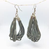 Anabelle - Earrings by Lumago (Grey)
