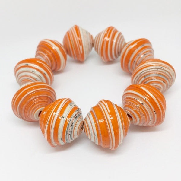 Chunky - Bracelet by Lumago (Orange)
