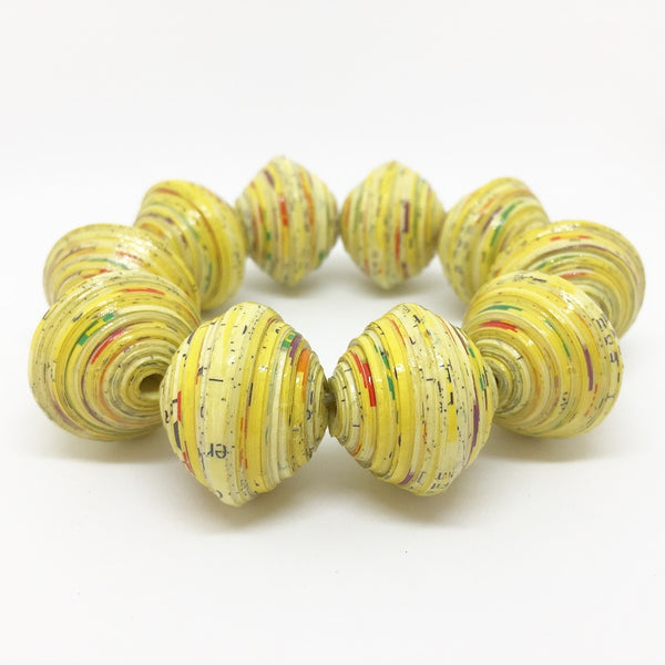 Chunky - Bracelet by Lumago (Yellow)