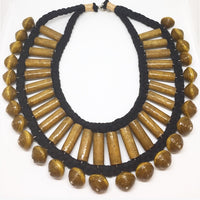 Cleopatra - Necklace by Lumago (Brown)