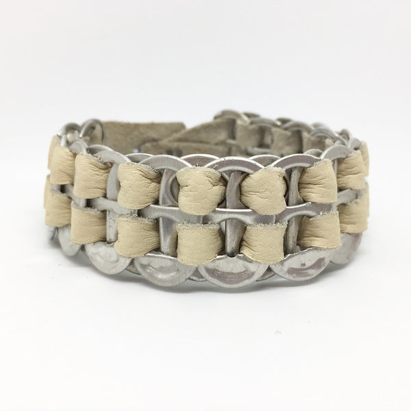Cyrus - Bracelet by Lumago (Cream)