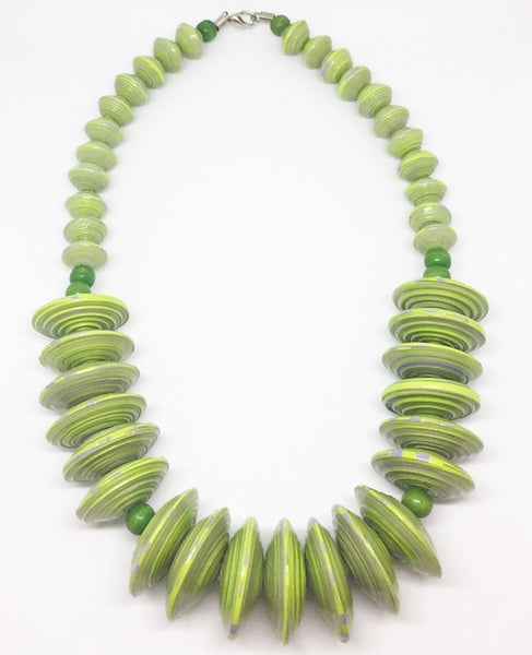 Rea - Necklace by Lumago (Green)
