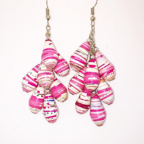 Fruity - Earrings by Lumago (Pink)