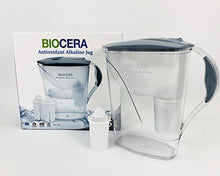 Load image into Gallery viewer, Biocera Alkaline Jug Filter with 2 Cartridges