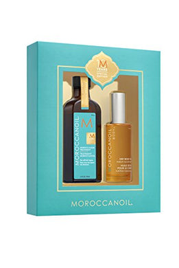 Moroccanoil 10 Year Anniversary Gift Set 100ml Treatment + 100ml Dry Body Oil