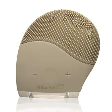 Facial Cleansing Brush MIKA TOUCH - Natural Facial Cleanser - Face Massager and Exfoliating