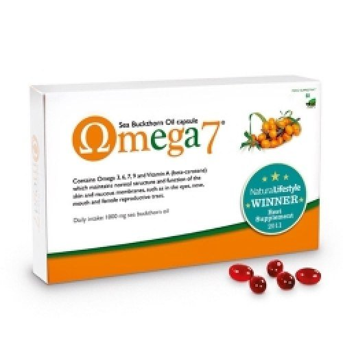 Pharma Nord Omega 7 (Sea Buckthorne Oil) 150 vegicapsules