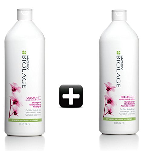 MATRIX BIOLAGE COLORLAST was Colortheraphie SHAMPOO 1000ml and CONDITIONER 1000ML SET