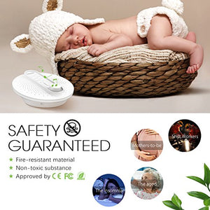 Sleep White Noise Machine - 24 Soothing Natural Sounds Therapy for Baby and Adults