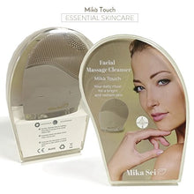 Load image into Gallery viewer, Facial Cleansing Brush MIKA TOUCH - Natural Facial Cleanser - Face Massager and Exfoliating