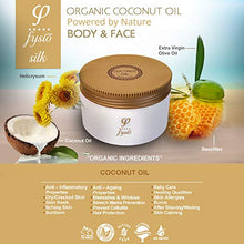 Load image into Gallery viewer, Organic Coconut Oil Enriched with Beeswax, Olive Oil, Argan & Jojoba | Natural Moisturiser l Complete Skincare For Body, Hair & Face - 250ml