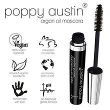 Load image into Gallery viewer, FINEST Vegan & Organic Lengthening Mascara Black With Argan Oil - Cruelty-Free, Best Natural Volumising, Thickening, Smudge Proof, Hypoallergenic, Water Based - for Sensitive Eyes & Short Lashes
