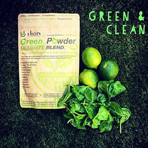 Green Powder – Vegan, alkaline & gluten-free Super Greens