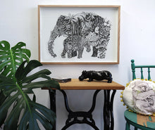Deep Jungle Giclée Print