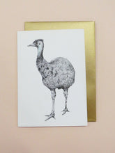 Emu Plains Greeting Card