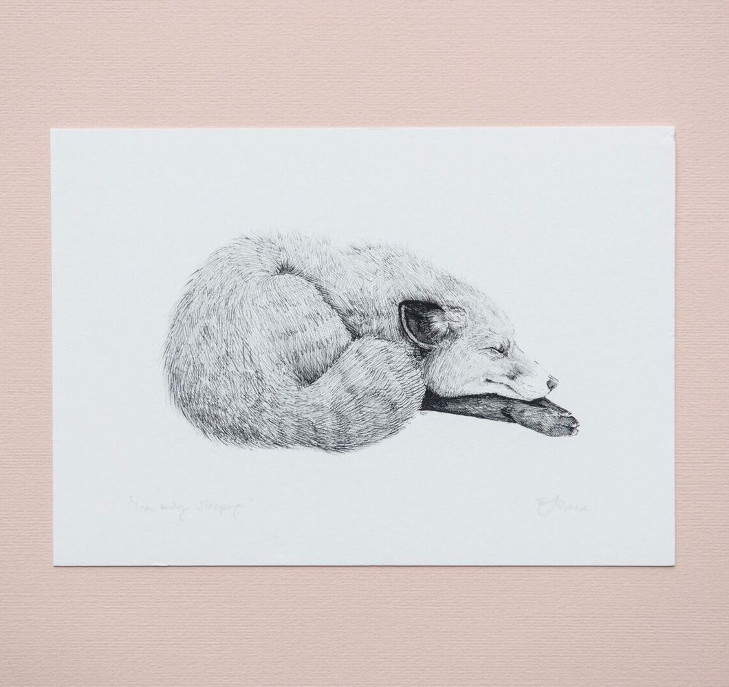 I'm Only Sleeping Giclée Print