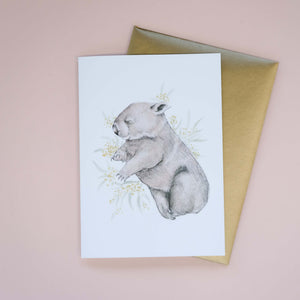 Bindi Greeting Card