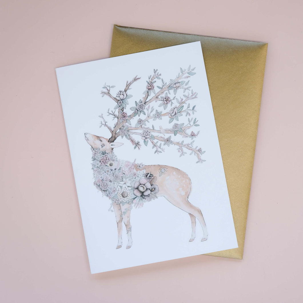 Jardin Greeting Card