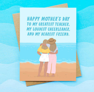 My Dearest Friend Mother's Day Greeting Card