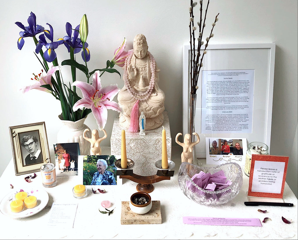 Altar Practice: Honouring the Mother BY Vanessa