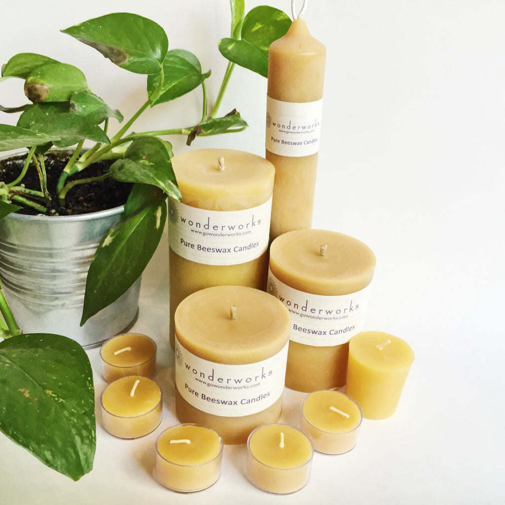 Want Cleaner Air? Use Beeswax Candles