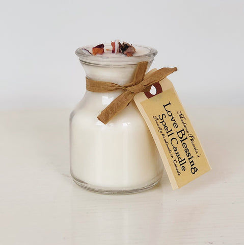 Love Blessing Mini Spell Candle
