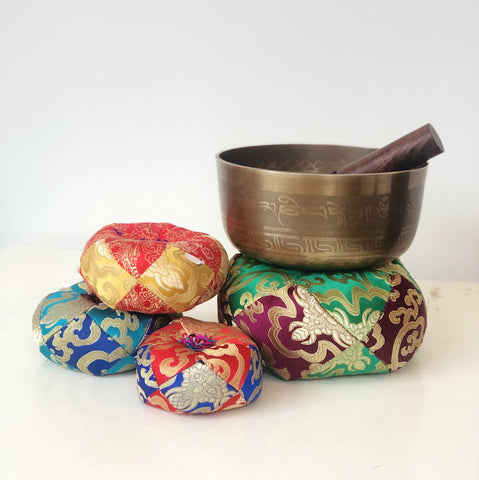 Tibetan Singing Bowl Cushions