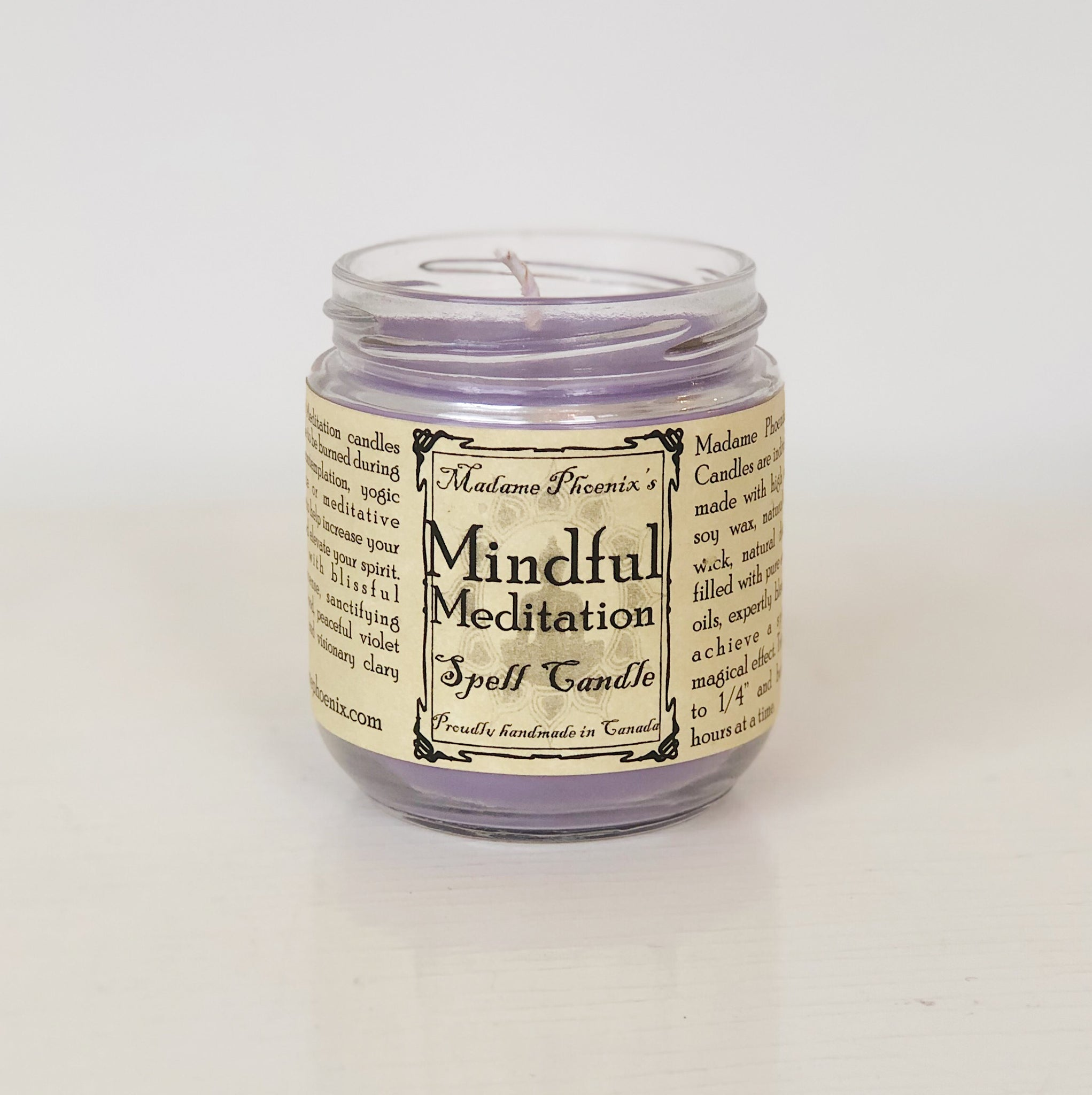 Mindful Meditation Magic Candle