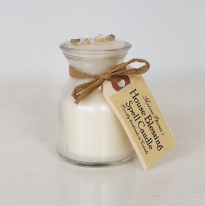 House Blessing Mini Spell Candle