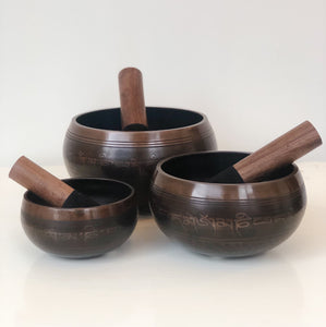 Traditional Mixed Metal Tibetan Singing Bowl