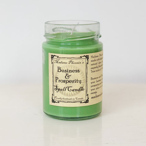 Business & Prosperity Magic Candle
