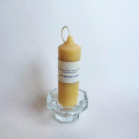 "Beeswax Candle Altar 4"" BeeGlo Wonderworks"