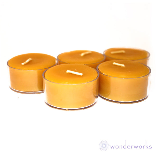 Beeswax Tealight Candles BeeGlo Wonderworks