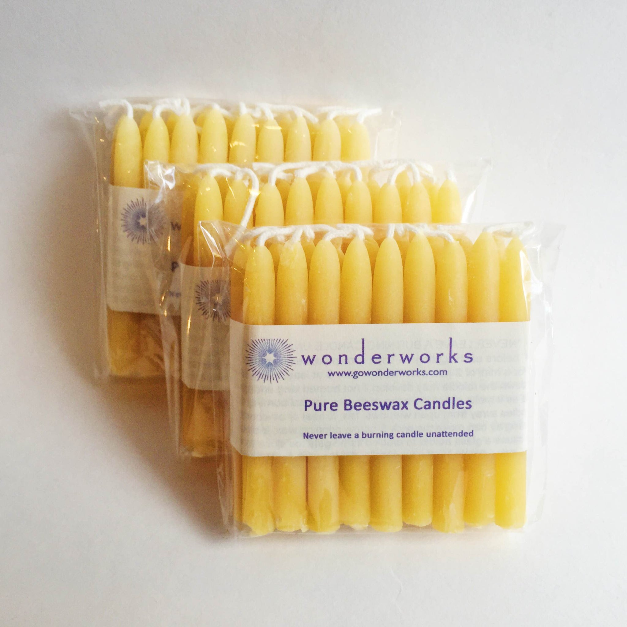 Beeswax Candles Birthday Pack BeeGlo Wonderworks