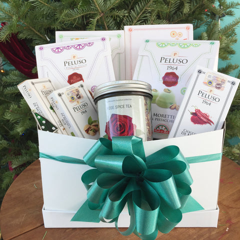 Food for the Soul Family Holiday Box Wonderworks Signature Collection Modica Chocolate
