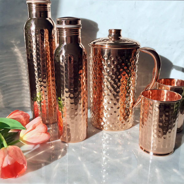 Copper Water Vessels sizes selection Wonderworks