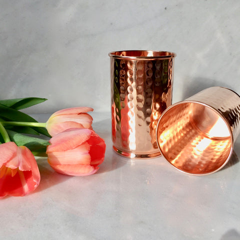 Copper Water Vessels 250 Tumbler Wonderworks