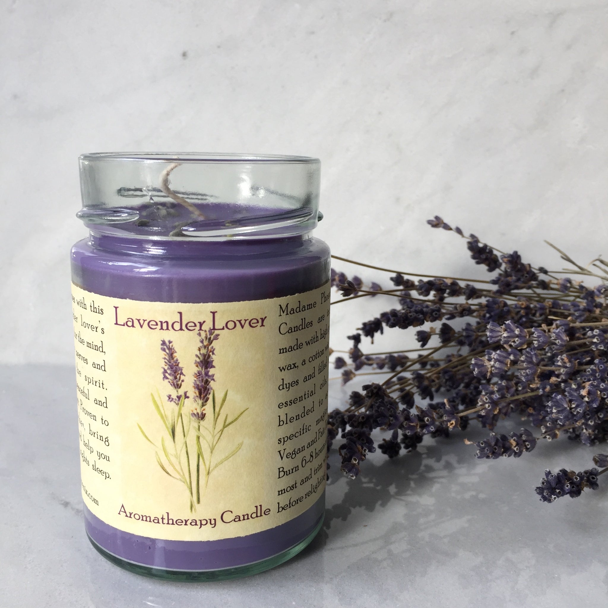 Lavender Lover Magic Candle