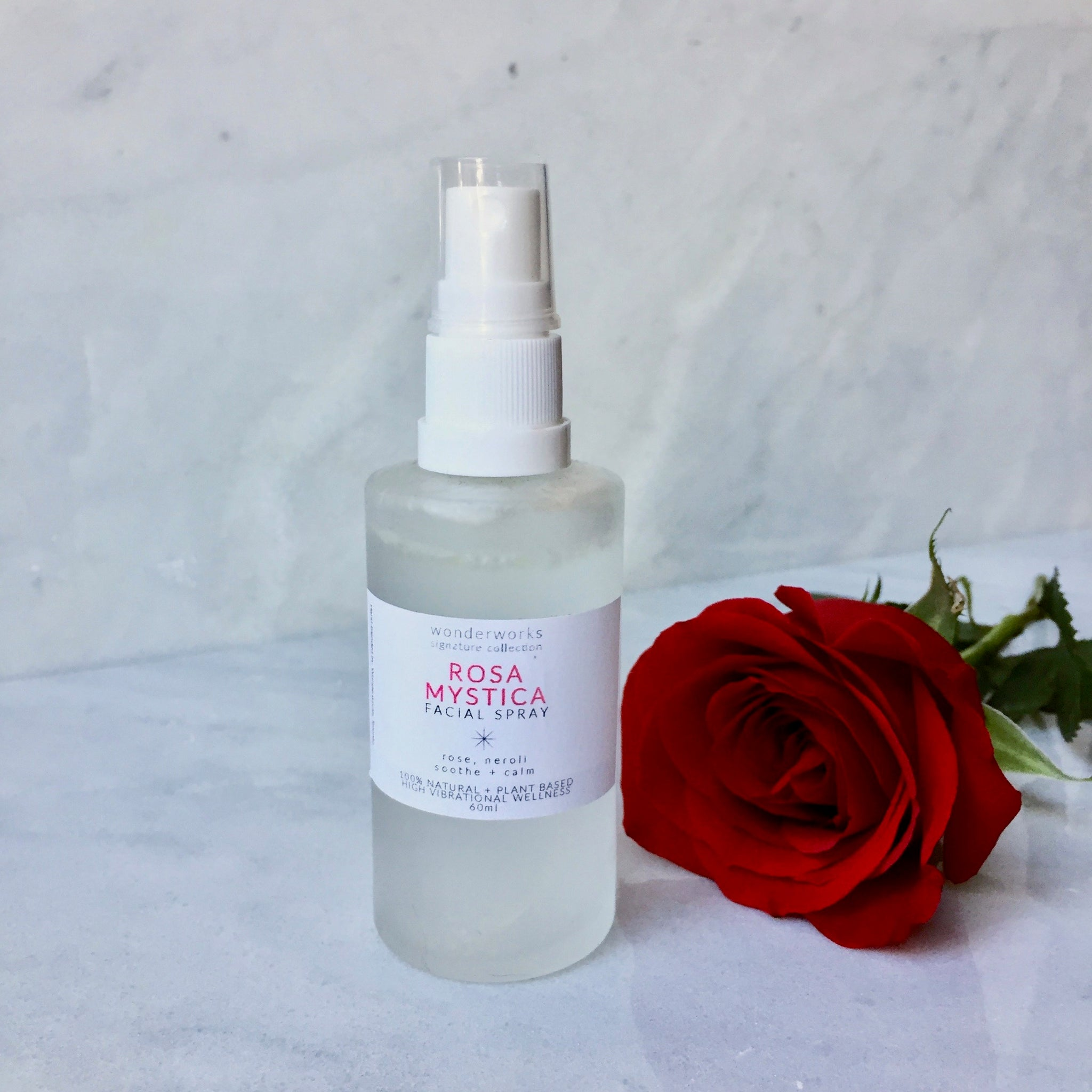 Rosa Mystica Facial Spray (Frosted Glass Spraytop)