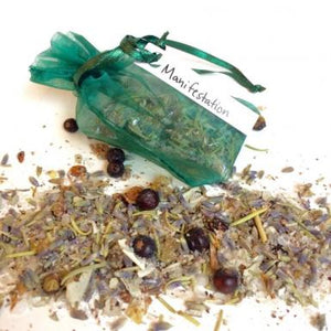 Manifestation Handblended Incense