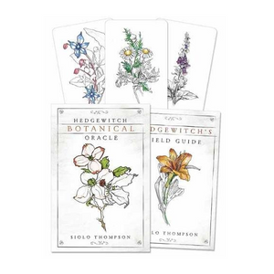 Hedgewitch Botanical Oracle Deck & Guidebook