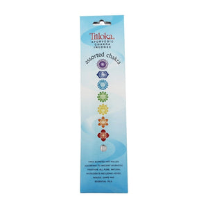 Assorted Chakra Ayurvedic Stick Incense