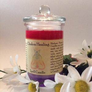 9a89c1c714 Chakra Healing Reiki Charged Magic Candle – gowonderworks