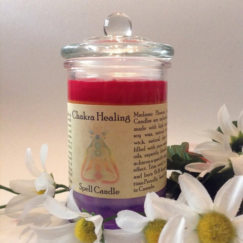 Chakra Healing Reiki Charged Magic Candle